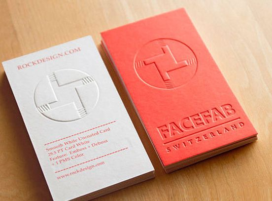 business card red creative - Google Search