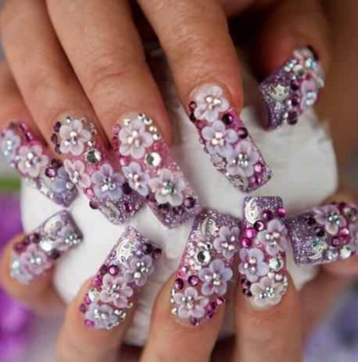 24 best sinaloa style nails images on pinterest style nails floral nail art bling nails google search style nails nail nail nailart hello kitty beautiful life prinsesfo Images
