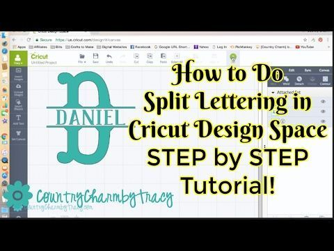 Tutorial for beginners with Cricut Design Space shows how to
