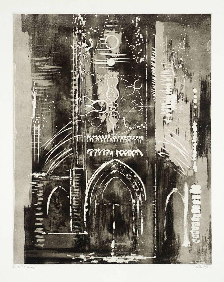 John Piper, Eglise de Vernon, Normandy