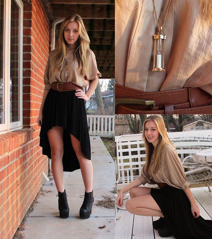 38 best High-low skirt images on Pinterest