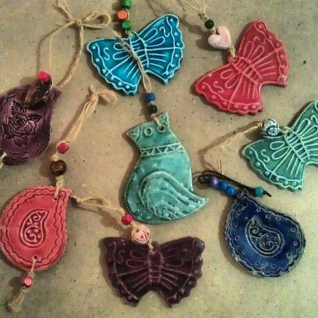 Clay#glaz#butterfly#handmade#