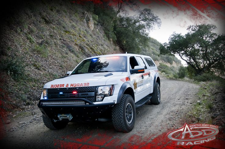 Search & Rescue Ford Raptor | Ford Raptor | Pinterest ...