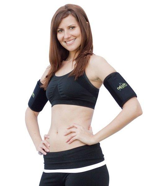 $19.99 Bio-Ceramic Upper Arm Exercise And Cellulite Reduction Bands