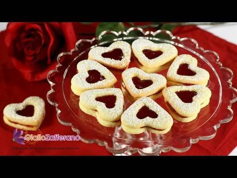 Biscotti di San Valentino, la ricetta di Giallozafferano