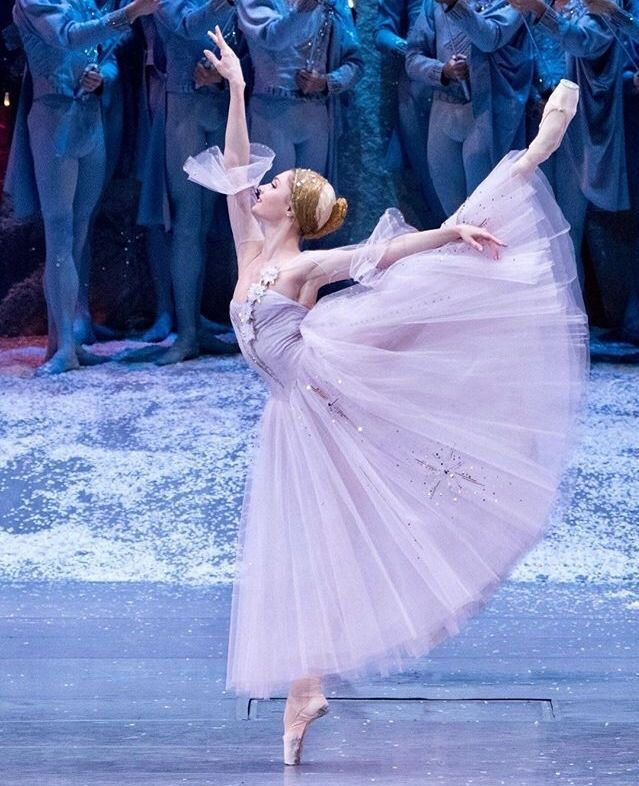 Alena Kovaleva In Bolshoi S The Nutcracker Photo By Mikhail