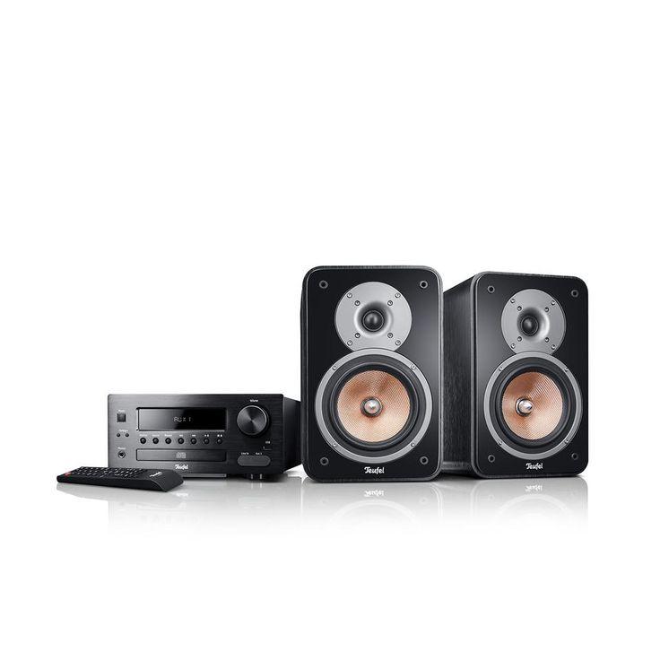 Kombo 42 jetzt kaufen! Leistungsstarke Stereo-Anlage in HiFi-Qualität für Musik, TV-Ton, Radio ✔ 80 Watt-CD-MP3-Receiver mit Fernbedienung! Ausgezeichnete Ultima 20 als 2-Wege-Regallautsprecher mit Bassreflex-System