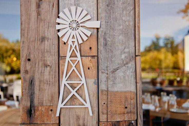 Wood - Wall Decor Windpomp