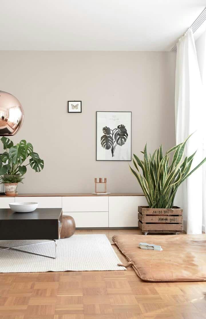 Mooie kleur aan de muur!