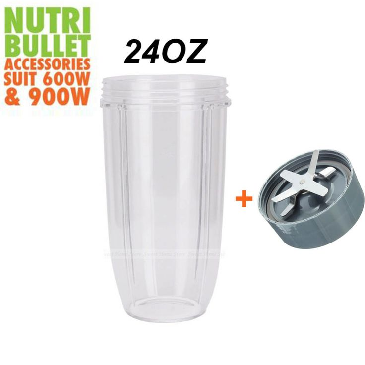 New COLOSSAL CUP 24OZ + Extraction Blade Replacement Parts For Nutribullet Nutri Bullet Replacement 600W 900W 20% off