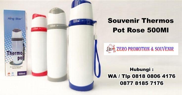 Jual Souvenir Thermos Pot Rose 500Ml – Thermos Promosi