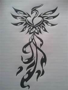 Image Detail for - Phoenix Tattoo Design by ~NIMROD-TIGER on deviantART