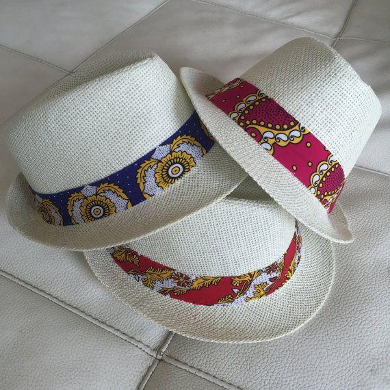 Cappello Panama con fascia in tessuto Sensitive di Outletsrls