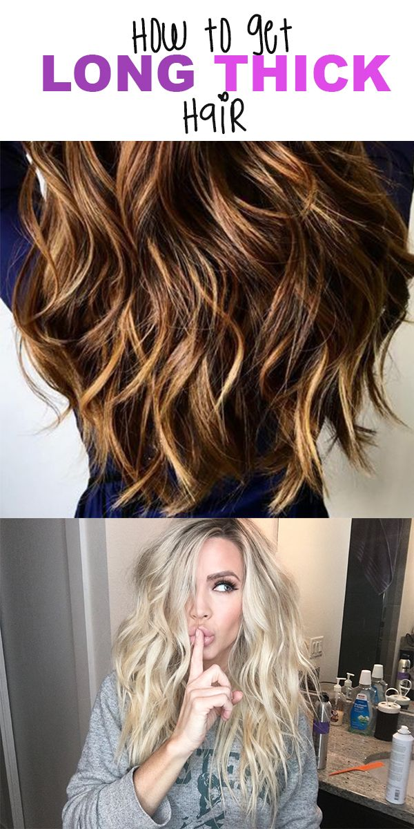We're sharing our secret to long silky smooth hair.