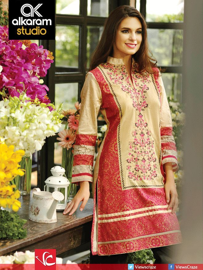 Alkaram Lawn Collection 2015 - Volume 01 (Complete Catalog)
