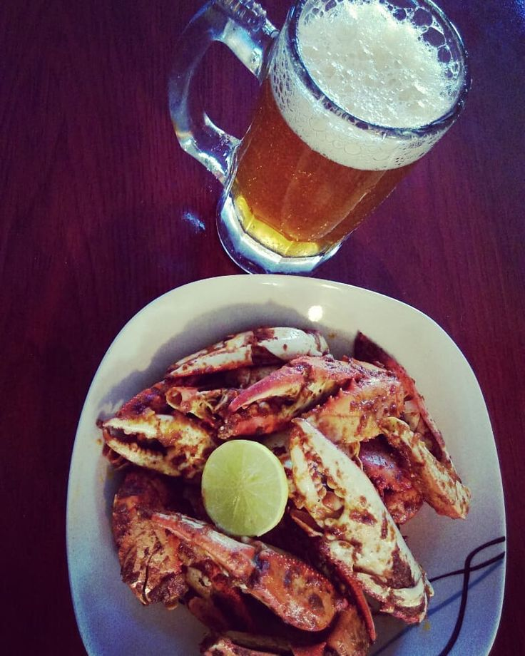 Perfect! T-Bone Crab Beer #sunday #sundayfood #tbonesteak #tbone #crab #beer #grill #cheatday #cheatfood #deli #tasty #food #blessed #family #happy
