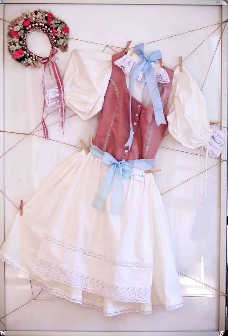 Folk costume from Malacky, Slovakia.  #folkcostume #parta #malacky #slovakia #ethnic #brocade #lace