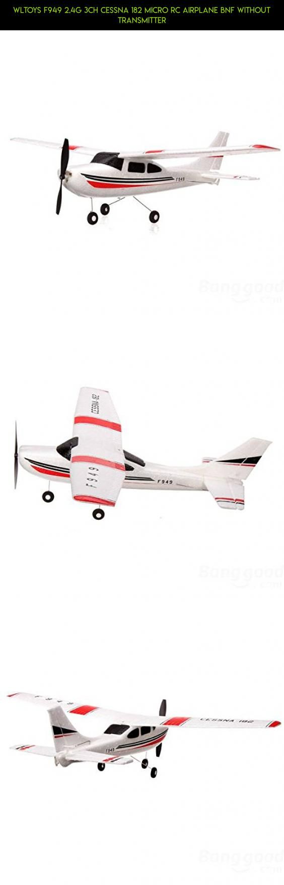 WLtoys F949 2.4G 3CH Cessna 182 Micro RC Airplane BNF Without Transmitter #parts #technology #fpv #tech #products #camera #racing #gadgets #plans #wltoys #cessna #shopping #drone #kit #182