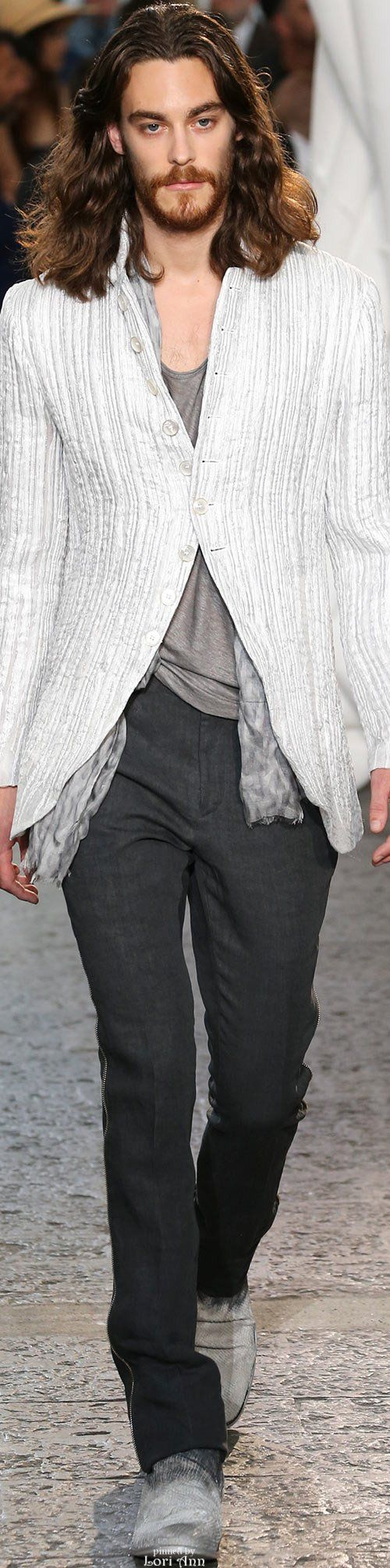 John Varvatos 2015 | Menswear | Men's Fashion | Men's Outfit for Spring/Summer | Casual and Stylish | Moda Masculina | Shop at designerclothingfans.com