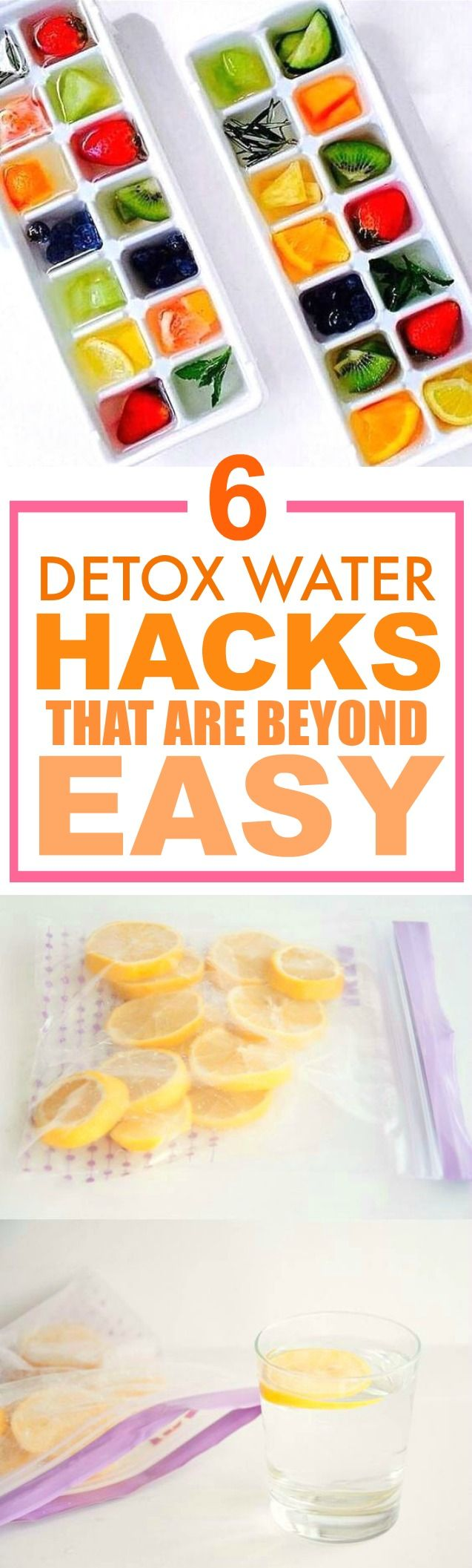 These 6 water detox hacks are THE BEST! I'm so glad I found this AMAZING post! I've tried a couple of these and I've definitely lost weight... ALREADY! I can't believe how easy these are! SO pinning for later!
