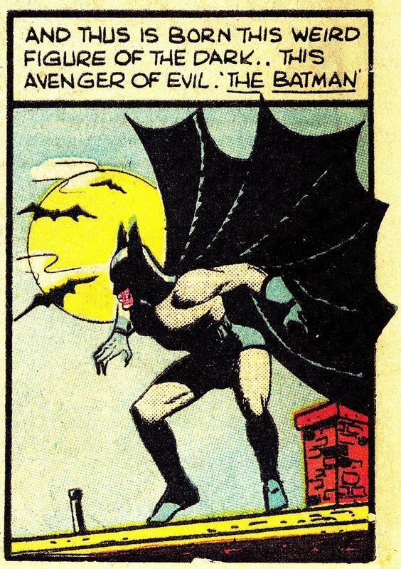 Batman in Detective Comics N°33 (Nov. 1939) -  Bob Kane