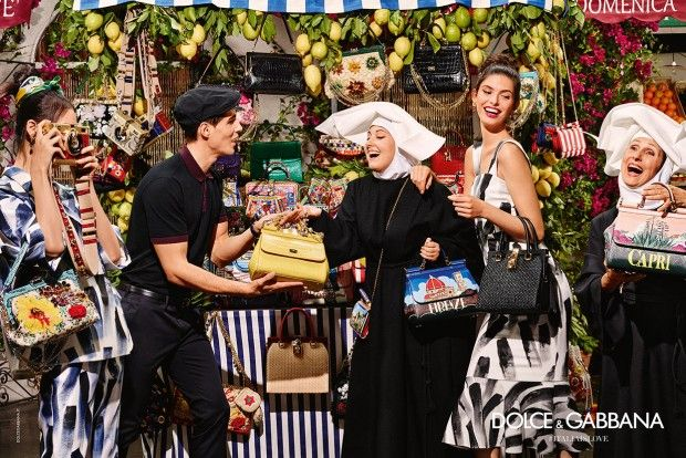 Dolce and Gabbana Unveils Its SS16 Campaign
