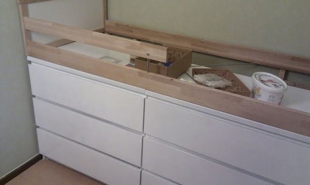 Better than sticking the kid in the actual dresser drawer | IKEA Hackers Clever ideas and hacks for your IKEA