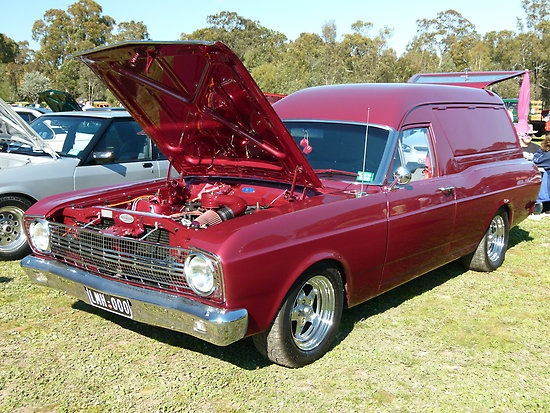 Ford Falcon XR Panelvan