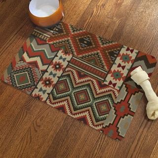 Shop for Laural Home Southwestern Pattern Pet Mat. Free Shipping on orders over $45 at Overstock.com - Your Online Feeders