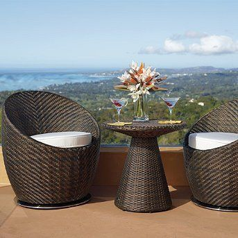 Salima Outdoor Seating Set   Frontgate, Patio Furniture By Frontgate.  $1295.00. Cushions Dry