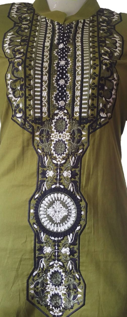 ATTIRES ATTRACTION COTTON KURTI WITH EMBROIDERED NECK & SLEEVES 2 (KR0007). Price: Pakistani Rupee (PKR) 2500. Facebook: https://www.facebook.com/commerce/products/1267132976743588/ Google+: https://plus.google.com/u/0/collection/YS5KSE