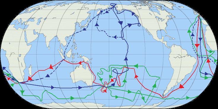 mapa detallado de los viajes de darwin - Buscar con Google
