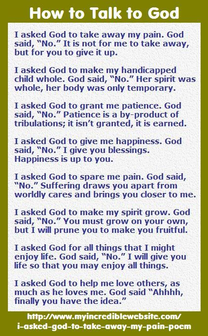 how to get god to talk to you
