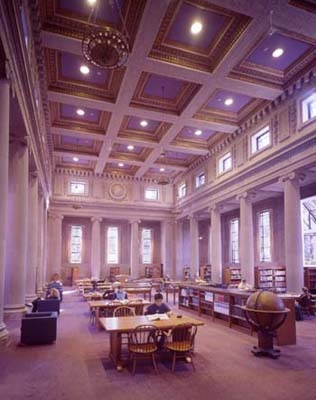 Dinand Reading Room, College of the Holy Cross, Worcester MA