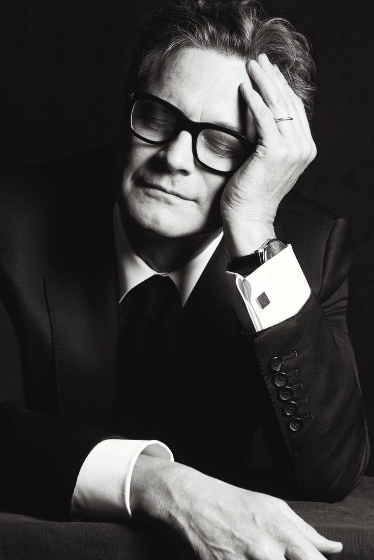 Madame Le Figaro's Exclusive Cannes Film Festival Portrait Gallery 2015 ~ Colin Firth (photo by Matias Indjic)