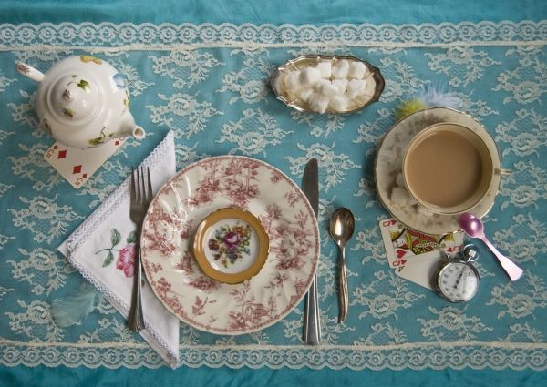 Fictitious Dishes -Alice in Wonderland
