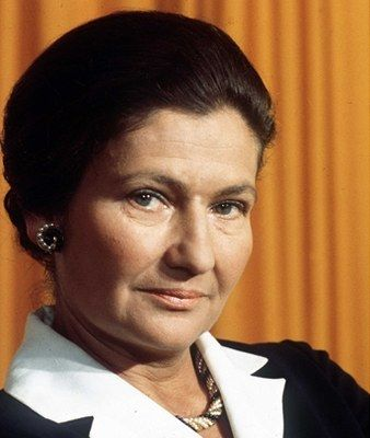 Simone Veil, (born 13 July 1927) is a French lawyer and politician who served as Minister of Health under Valéry Giscard d'Estaing, President of the European Parliament and member of the Constitutional Council of France. Known for the law (Loi Veil) legalizing abortion (1975).
