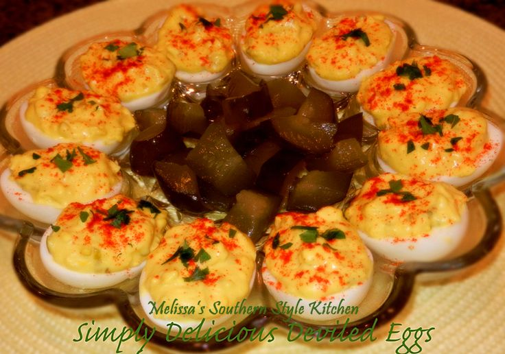 Melissa's Southern Style Kitchen: Simply Delicious Deviled Eggs