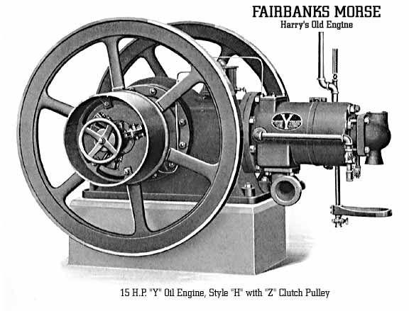 "Fairbanks Morse ""Y"" Oil Engine - Style ""H"""