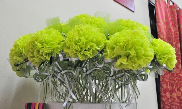 A piece of my story..: tutorial bunga telur dari kertas tisu