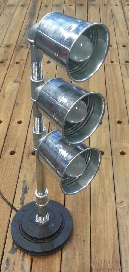 Galvanized Pipe Lamp