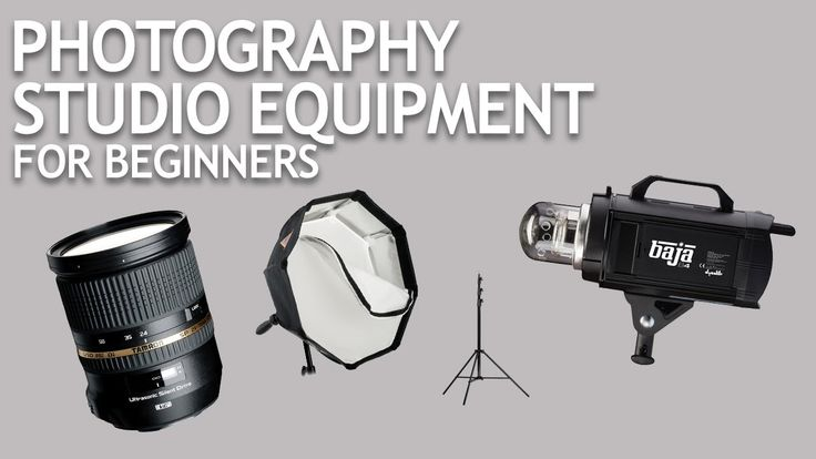 Photography Studio Equipment for Beginners: This video by The Slanted Lens shows you what you'll need to start a photography studio in 2017, giving three different entry points into the world of making money with photography with a $1000, $3000, and $5500 setup, showing you can have a pretty cool studio at any budget.