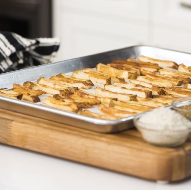 Chuck Hughes' 'perfect' french fries
