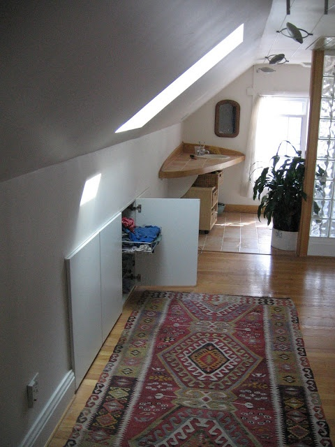 Pull Out Drawers In Wall Attic Room Ideas Pinterest
