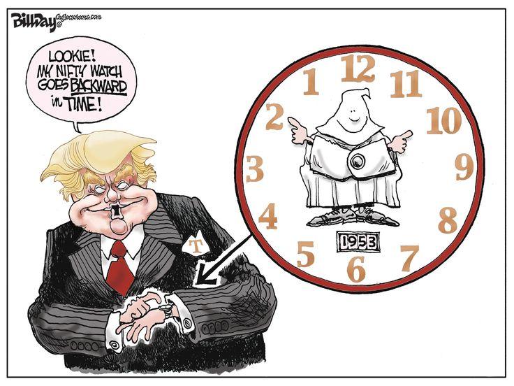 Editorial Cartoon - Nifty Watch