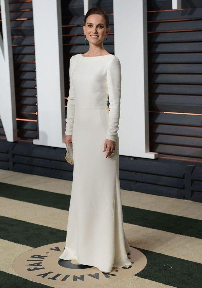 Vanity Fair after Oscars party - Natalie Portman - Dior