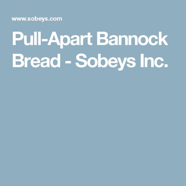 Pull-Apart Bannock Bread - Sobeys Inc.