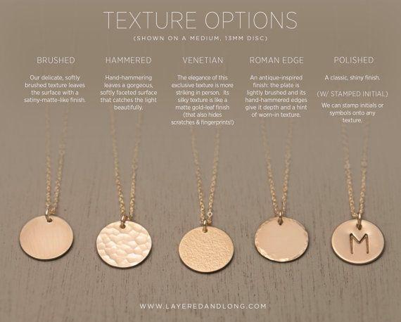 Leer oder personalisierte Gold-, Silber- oder Rose Circle Halskette - einfachen, modernen, alltäglichen Halskette. Schöne, Hand Hammered 14k kann Gold gefüllt, Sterling Silber oder 14 k Rose Gold gefüllt Tag leer oder gestempelt mit einem Buchstaben oder ein Symbol Ihrer Wahl gelassen werden.  Kette: KLEINE SCHEIBE--klein, 9mm Kreis markieren LN209_V  -Feine, hochwertige italienische oder USA gemacht Kette. -Alle Komponenten sind 14k Gold füllen, Sterling Silber oder 14k Rose Gold füllen…