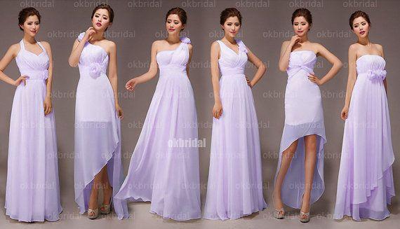 lilac bridesmaid dresses cheap bridesmaid dress custom by okbridal, $119.99