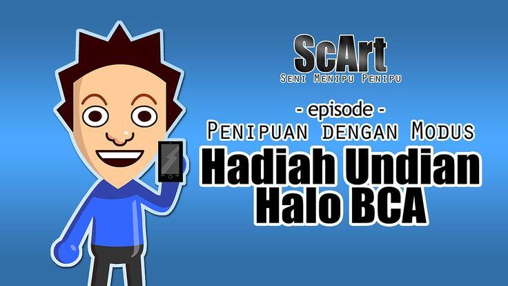 Animasi Rekaman Penipuan Telepon Lucu Modus Undian Berhadiah - ScArt ( S...